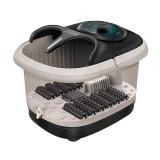 茗振(MZ) 足浴盆按摩器電動加熱泡腳桶家用足療機MZ-999U基礎款