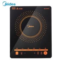 美的(Midea)電磁爐多功能大功率 觸控黑晶面板 智能暫停 4D防水 C21-RT2171