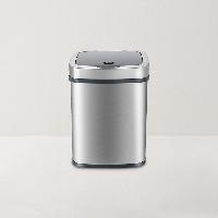 網易智造智能感應垃圾桶銀灰色