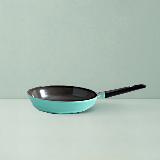 陶瓷涂层耐用煎锅28cm薄荷绿/无盖/直火使用/电磁炉不可用