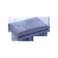 纯色水洗棉空调被180*200cm*蓝色