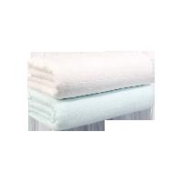 五层吸水纱布浴巾(婴童)绿+白