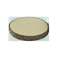 日式双面圆形蔺草垫41*41*5.5cm