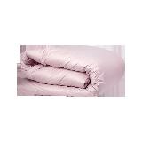 白鹅绒秋冬加厚羽绒被95%白鹅绒200*230cm(粉色)