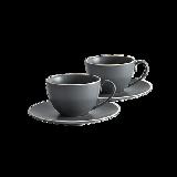 簡歐新骨瓷咖啡杯【2套杯】咖啡杯*2+咖啡碟*2