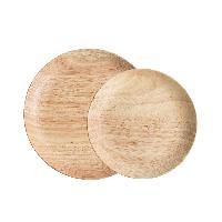 橡胶木圆盘【组合装-立省5元】橡胶木对盘(中号+大号)