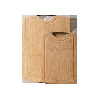 生熟分类  整竹砧板子母装子母套
