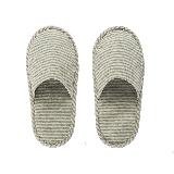 日式和风便携拖鞋灰色条纹