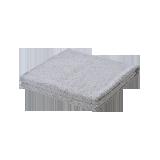 纯棉中空纱浴巾灰色