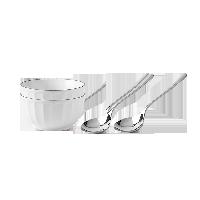 雙人餐具組合-超值9.9節雙人早餐麥片碗勺組合(4件入)- 超值9.9節
