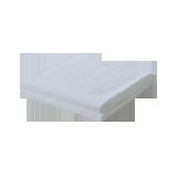 纯棉中空纱浴巾白色