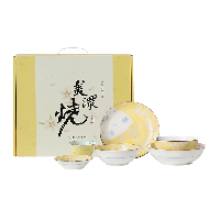 日本制造 美濃燒京櫻餐具禮盒 6件裝6件套禮盒裝