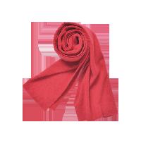 男士风致100%纯羊绒围巾红色