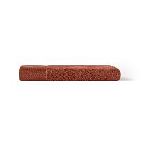 埃及进口长绒棉浴巾柿红Persimon Red