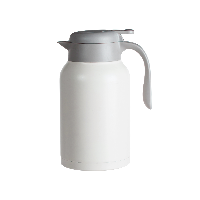 大容量不銹鋼保溫壺 2L白色