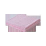纯棉中空纱浴巾粉色