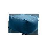 日式和风懒人沙发蓝绿(内胆+外套)