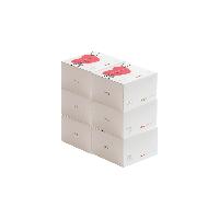 婴儿纯棉柔巾 100抽100抽*6盒装【组合装】