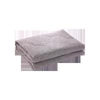 纯色水洗棉空调被150*200cm*灰色