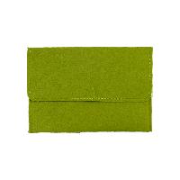 素色信封MAC電腦包森野綠