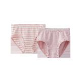 草木染三角內褲(女童)粉色*120cm
