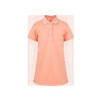 女童短袖Polo长衫  4-16岁粉色*110cm(建议拍大一码)