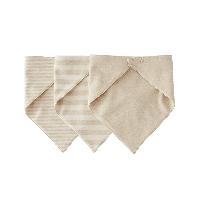日系彩棉三角巾(婴童)三条装(建议0-2岁)