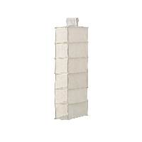 棉麻涤收纳挂袋六层(15.5*31.5*79cm)