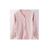 小童草木染開衫 2-7歲粉色*100cm