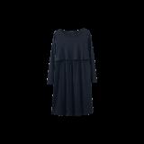 隐形便哺乳连衣裙黑色均码