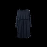 隱形便哺乳連衣裙黑色均碼