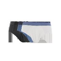 男式玩色内裤白色+深麻灰+牛仔蓝+黑色*S