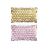科尔玛小镇·提花抱枕套 2件组合装科尔玛小镇·提花抱枕套 2件组合装*柠檬黄+浪漫粉(仅抱枕套)