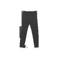 男式咖啡碳保暖内衣(可单买上衣/裤子)深麻灰保暖裤*M