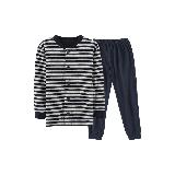 日式棉接結家居服套裝(兒童)海軍藍*120cm