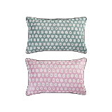 科尔玛小镇·提花抱枕套 2件组合装科尔玛小镇·提花抱枕套 2件组合装*清新绿+浪漫粉(抱枕套+抱枕芯)
