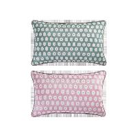 科爾瑪小鎮·提花抱枕套 2件組合裝科爾瑪小鎮·提花抱枕套 2件組合裝*清新綠+浪漫粉(抱枕套+抱枕芯)