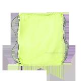 简约便携防水运动包荧光黄