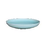 龙泉原矿粉青釉餐具碗盘【1件装】8寸月亮深盘