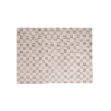 羊毛手工地毯朽葉褐