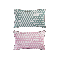 科尔玛小镇·提花抱枕套 2件组合装科尔玛小镇·提花抱枕套 2件组合装*清新绿+浪漫粉(仅抱枕套)