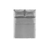 21s磨毛四件套 升级款迷雾灰*1.5m床:适用2mx2.3m被芯