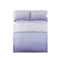 淡墨天丝麻渐变四件套1.5m床:适用2mx2.3m被芯*渐变紫