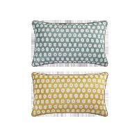 科爾瑪小鎮·提花抱枕套 2件組合裝科爾瑪小鎮·提花抱枕套 2件組合裝*清新綠+檸檬黃(抱枕套+抱枕芯)