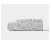 阿瓦提长绒棉毛浴巾组合铂银灰(毛巾+浴巾)x1条