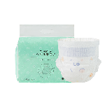 婴儿超薄纸尿裤试用装5片拉拉裤L码3包+46抽乳霜纸巾3包