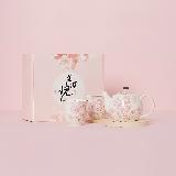 樱花限定·日本制造 美浓烧樱花茶具三件套三件套礼盒装