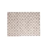 羊毛 手工地毯朽葉褐