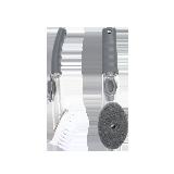 2件裝 保護雙手 液壓式清潔鍋刷海綿刷頭+PP刷頭 組合裝