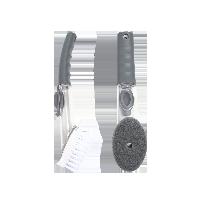 2件装 保护双手 液压式清洁锅刷海绵刷头+PP刷头 组合装